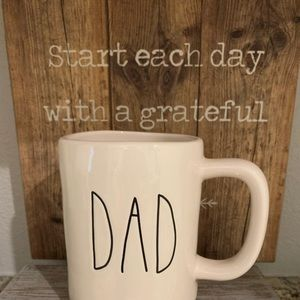 New Rae Dunn ceramic DAD mug